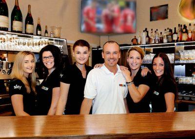 Café Alibi in Passau, Billard & SKY Sportsbar mit Alibi Team